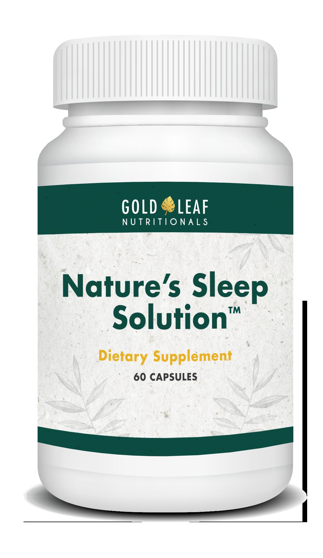 Nature's Sleep Bottle