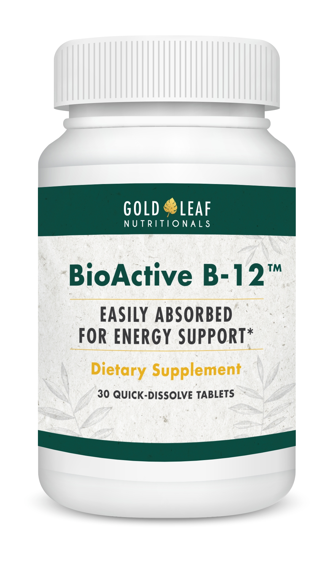 BioActive B12 Bottle