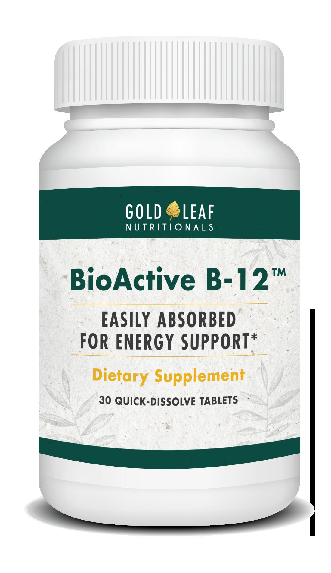 BioActive B12 Bottle